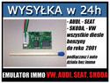 EMULATOR IMMO VW bez CAN 1/2 (AUDI, SEAT, SKODA, VW)