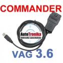 VAG K + CAN COMMANDER 3,6